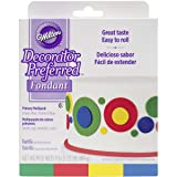 Wilton 710-2311 Primary Decorator Preferred Fondant, Assorted, 4-Pack