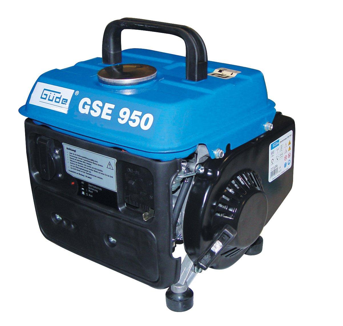 Güde 40626 Stromerzeuger GSE 950, 650/750 Watt 1 Zylinder/2TaktMotor 0,8kW/1 PS  BaumarktKundenbewertung und Beschreibung