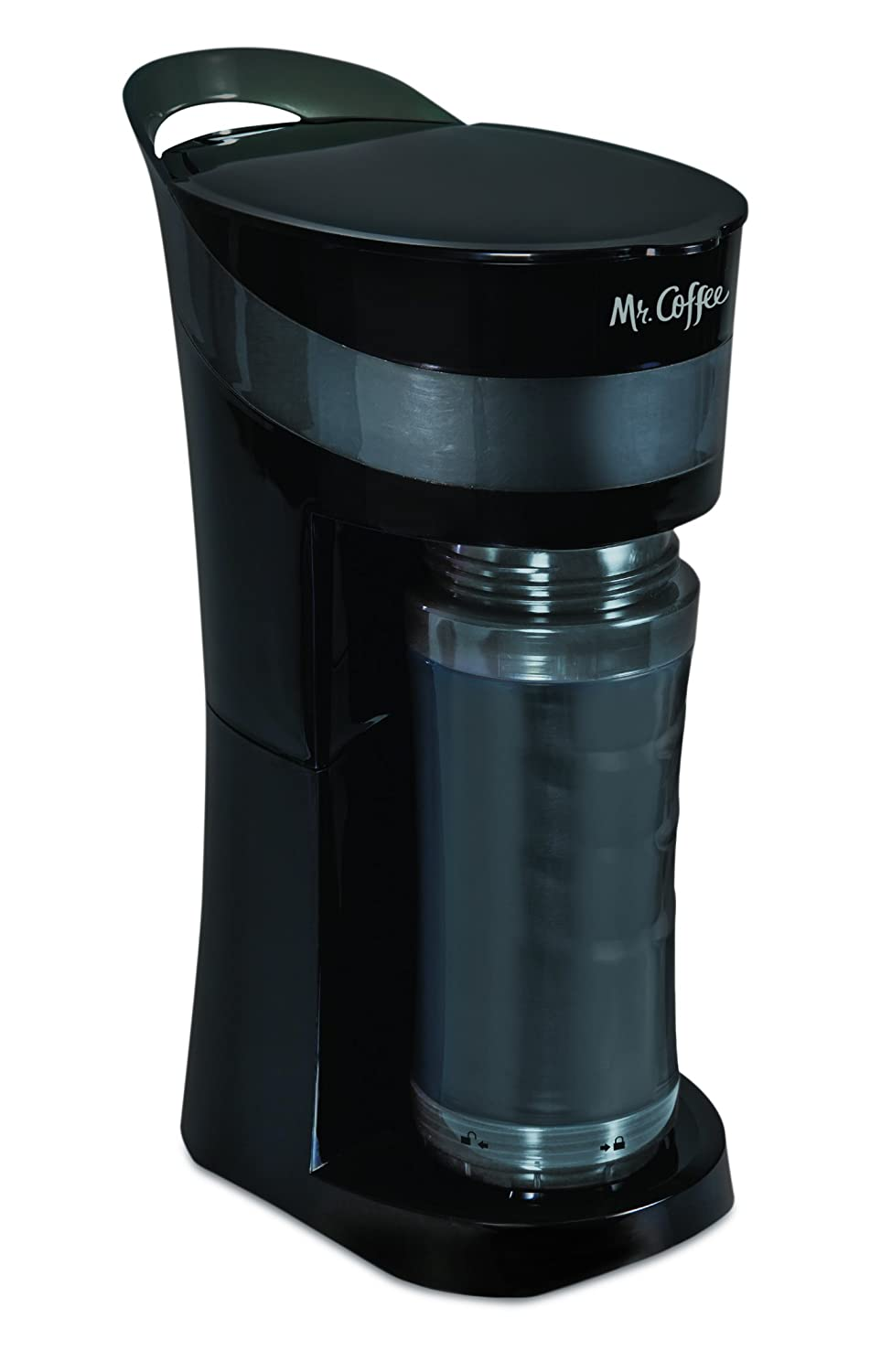 Coffee Maker Mug : Mr. Coffee Pour! Brew! Go! 16-Ounce Personal Coffee Makers with TO-GO Mugs