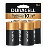 Duracell Coppertop Alkaline D Batteries - 8 Count Doublewide (Color: A2771, Tamaño: D Alkaline)