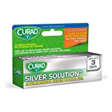 Curad Silver Solution Antimicrobial Silver Wound Gel, 0.5 oz Per Tube (3 Pack)