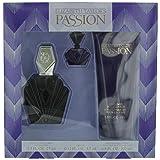 Passion By Elizabeth Taylor For Women, Set-edt Spray, 2.5-Ounce Bottle & Body Lotion 6.8-Ounce Bottle & Parfum .12-Ounce Bottle Mini (Tamaño: 2.5 OZ)