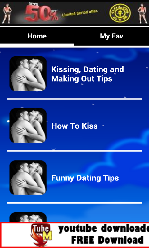 How to kiss dating advice
