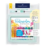 Faber-Castell Intro to Watercolor with Gelatos - Watercolor for Beginners Kit