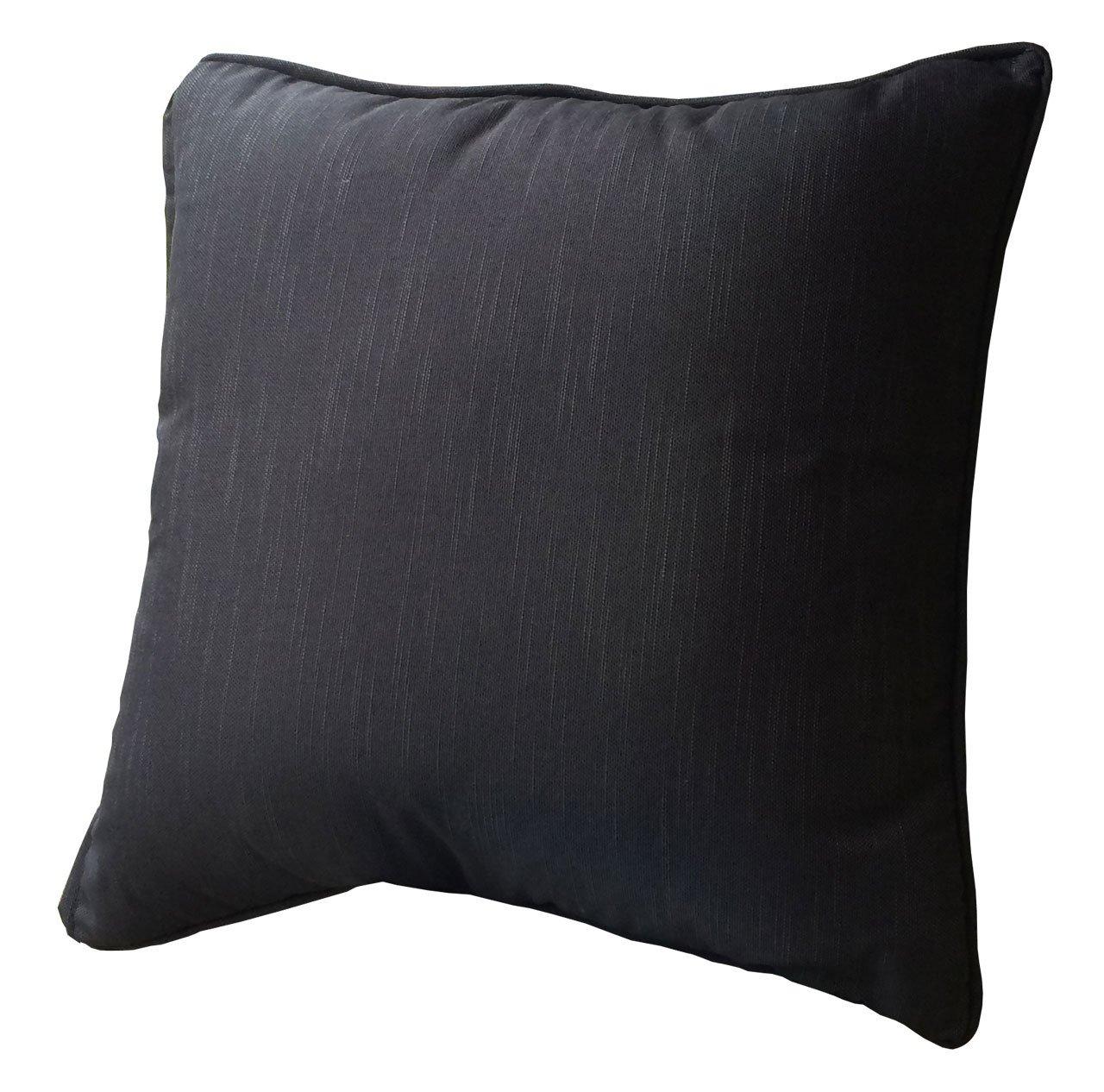 Kissenbezug 60x60cm Schwarz jetzt bestellen