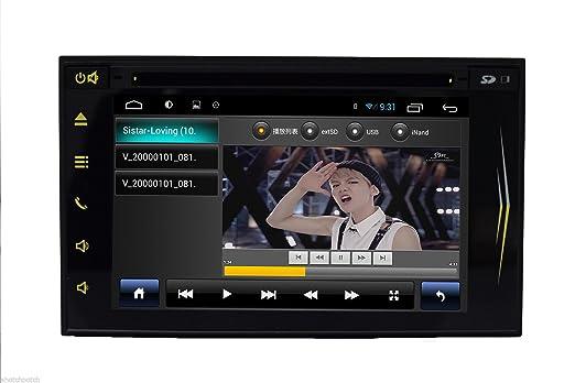 Multi-MšŠdia 6.2 pulgadas ninguna tecla tš¢ctil de coches Double Din Android HD 4.2 Transmisor tš¢ctil capacitiva estšŠreo coche de la pantalla del LCD del jugador de DVD 2 DIN EN el tablero del veh&scar
