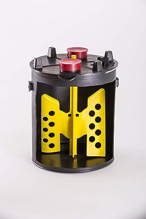 1 Gallon Paint Mixer (Color: High Visibility, Tamaño: Full Size)