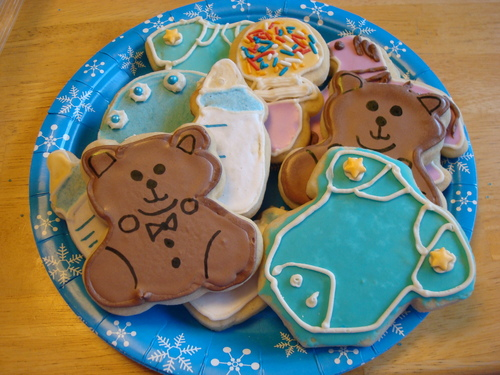 Wilton baby theme cookie cutter 4 piece set cookie cutters baby shower kitchen - Wilton baby shower favors ...