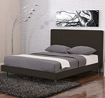 lit design milano chocolat chocolat 180x200 cm. Black Bedroom Furniture Sets. Home Design Ideas