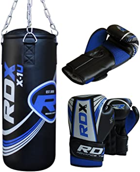 rdx enfants 2ft mma sac sac de frappe lourd junior boxe. Black Bedroom Furniture Sets. Home Design Ideas