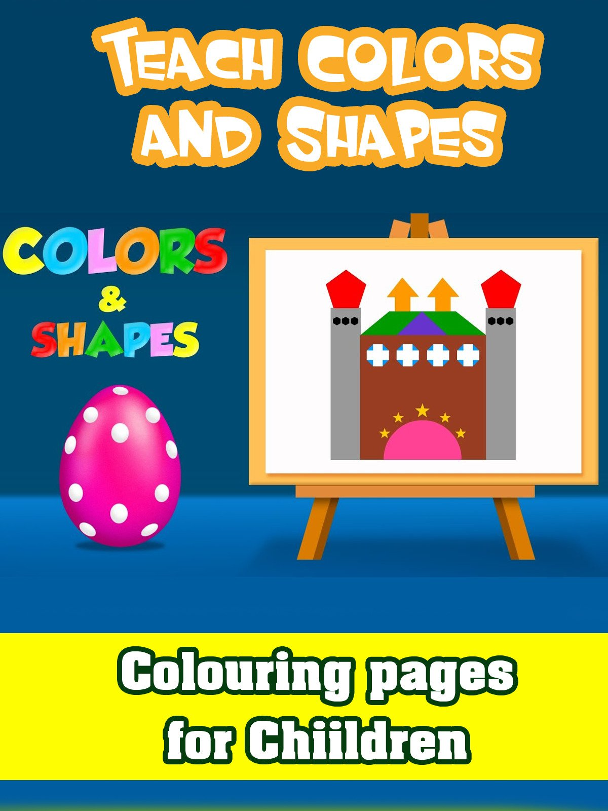 Teach Colors and Shapes