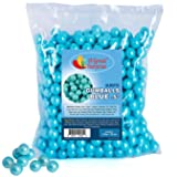 Gumballs in Bulk - Light Blue Gumballs for Candy Buffet - Mini Shimmer Gumballs 1/2 Inch - Bulk Candy 2 LB