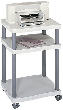 Safco - Supporto per stampante Wave - Grigio