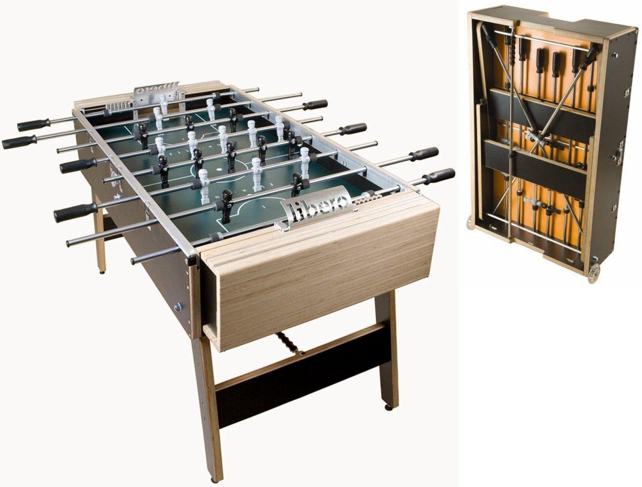 flix Libero Classic: : Klappbarer & mobiler high-end Turnierkicker günstig kaufen