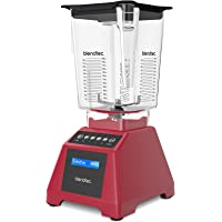 Blendtec Classic 560 Blender with WildSide Jar - Poppy Red