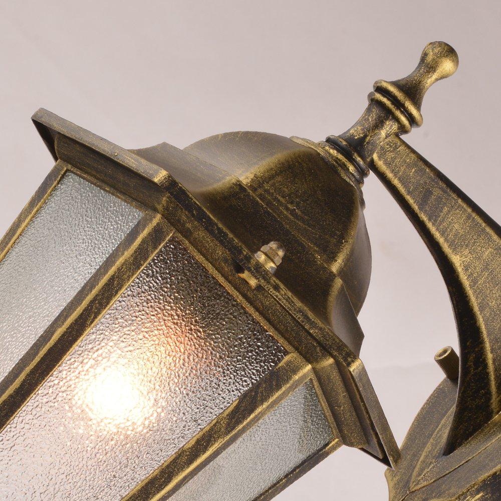 NATSEN Vintage Village Wall Sconce 1-Light Wall lamp E26 Metal max E26 60W bulb 2