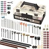 SPTA Rotary Tool Accessories Kit, 349Pcs Grinding Polishing Drilling Kits, 1/8