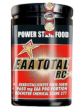 EAA TOTAL RC Aminosäuren, IN WORKOUT-Getränk, Dose 600 g à 30 Portionen in Orange, zur Versorgung mit den essentiellen Aminosäuren bereits während der Belastungsphase