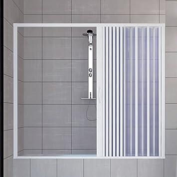 Croydex Flexible de douche en PVC renforc/é Blanc 1,25 m