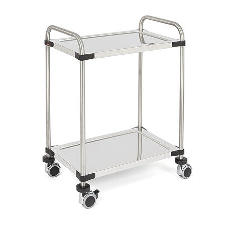 Rieber 72505036Servo Star Kitchen Trolley 640RL 2Shelves Flatpack Home