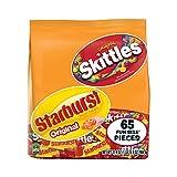 SKITTLES & STARBURST Christmas Candy Fun Size Variety Mix 31.9-Ounce Bag 65 Pieces (Tamaño: 65 Fun Size Pieces)