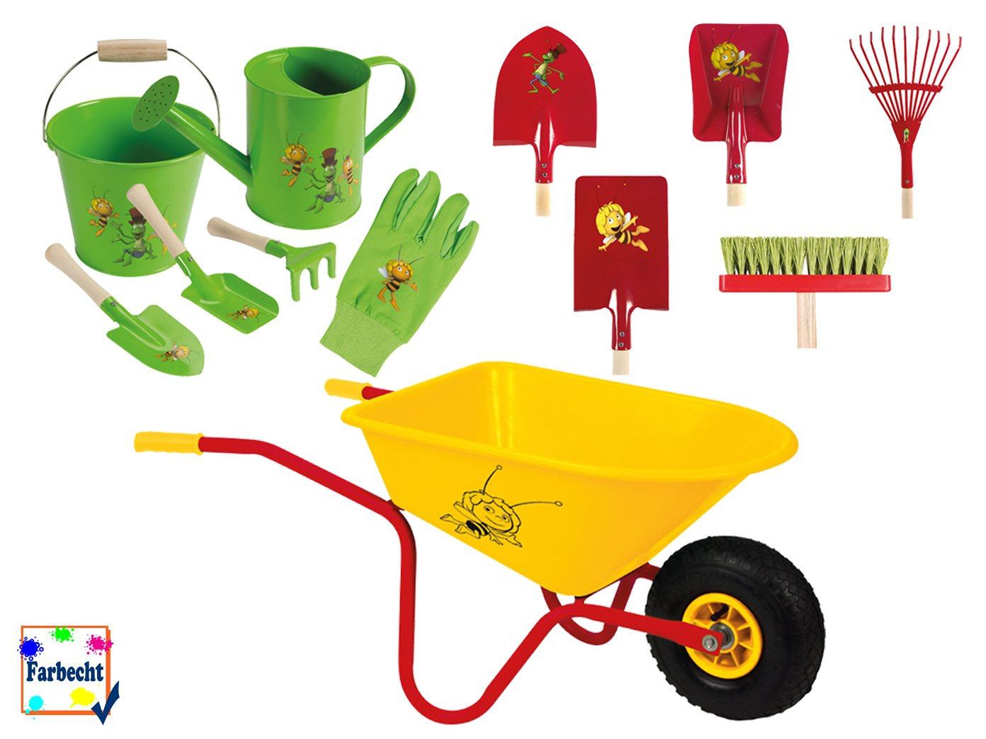 VELLEMAN Großes Gartenspielzeug-Set für Kinder -DIE BIENE MAJA- günstig bestellen