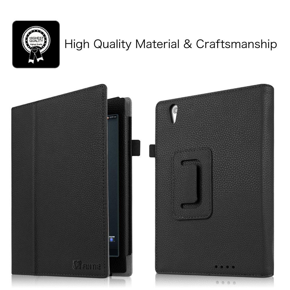 leather stand case cover stylus holder for gigaset qv830 8 inch android tablet. Black Bedroom Furniture Sets. Home Design Ideas