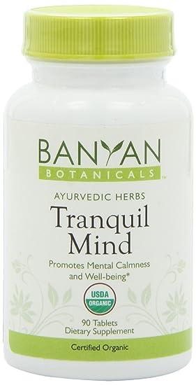 Отзывы Banyan Botanicals Tranquil Mind, 90 Tablets- Certified Organic
