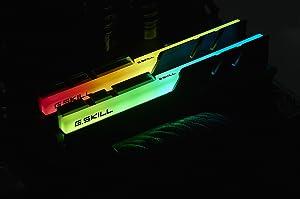 32GB G.Skill DDR4 TridentZ RGB 2933Mhz PC4-23400 CL14 1.35V Dual Channel Kit (2x16GB) for Intel/AMD