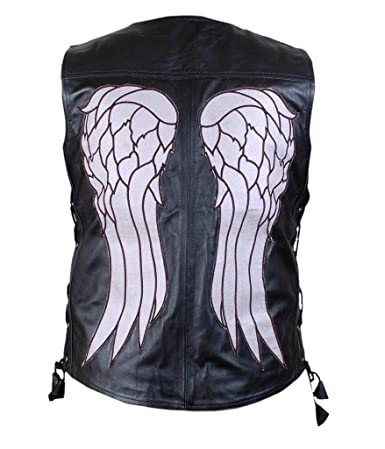F&H Men's Walking Dead Daryl Dixon Vest L Black