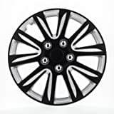 Pilot WH546-16B-BS Universal Fit Premier Toyota Camry Style Black 16 Inch Wheel Covers - Set of 4