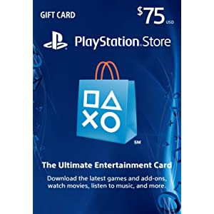 Best $75 PlayStation Store Gift Card Review