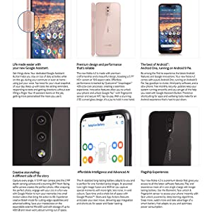 Nokia 4 2 - Android One (Pie) - 32 GB - 13+2 MP Dual Camera