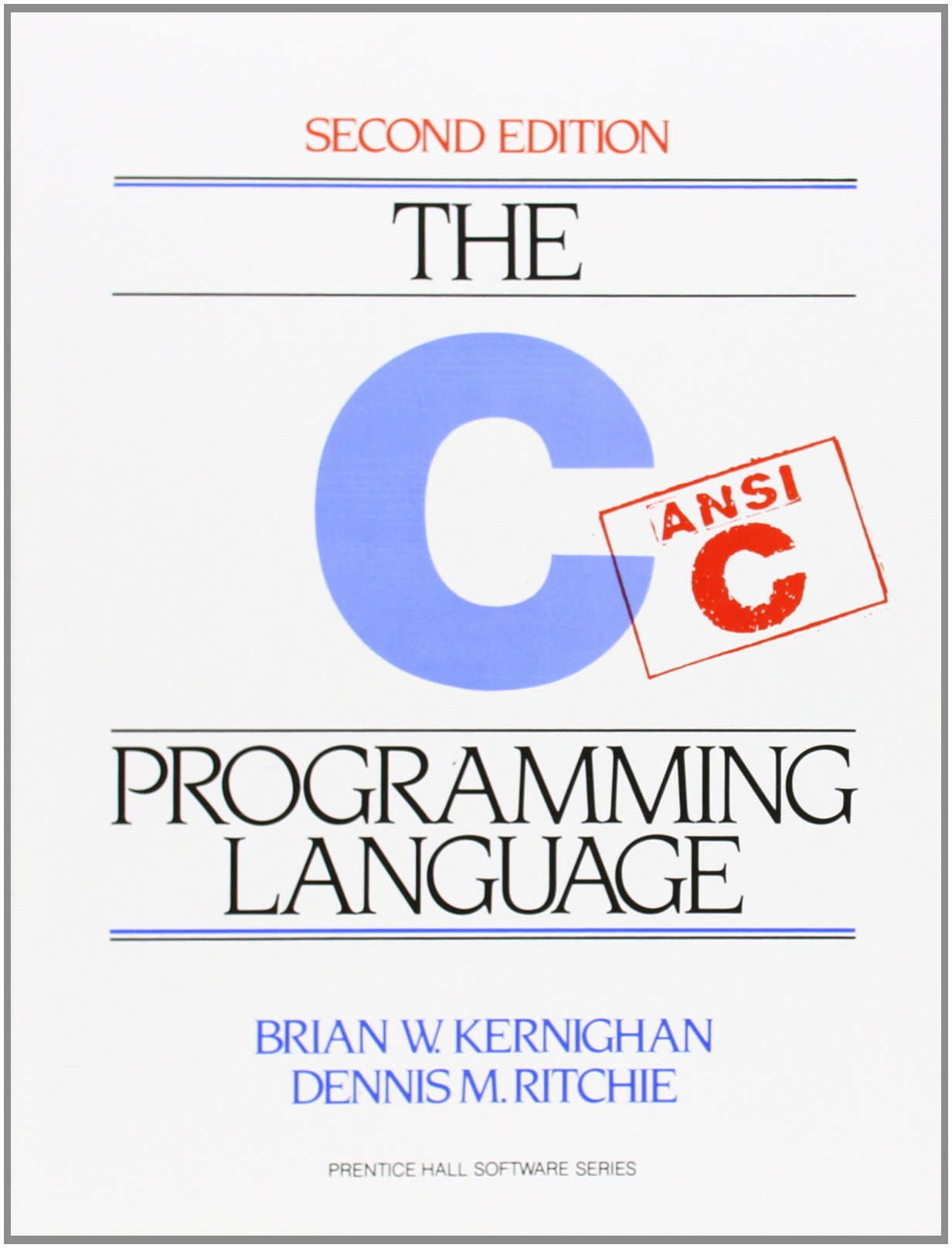 The C Programming Language, 2nd Edition