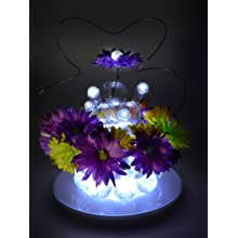 "Fortune Products FB-1W Fairy Berries Magical LED Light, 3/4"" Diameter, White (Case of 10)"