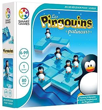 Smart Games - SG 155 FR - Jeu de Société - Les Pingouins Patineurs