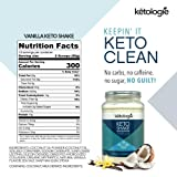 Ketologie Vanilla Keto Protein Shake   Best Ketogenic Nutritional Shake   Low Carb High Fat (LCHF) Keto Shake   Helps Burn Fat, Increases Energy & Kickstarts Ketosis Net WT 38.1oz(2.38lb) (Tamaño: 38.10 oz.)