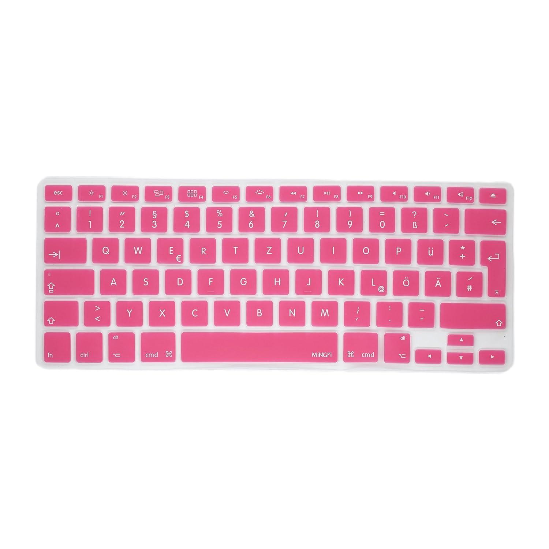 MiNGFi Deutsche Tastatur Silikon Schutz