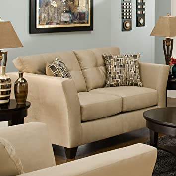 Del Mar Loveseat with Toss Pillows