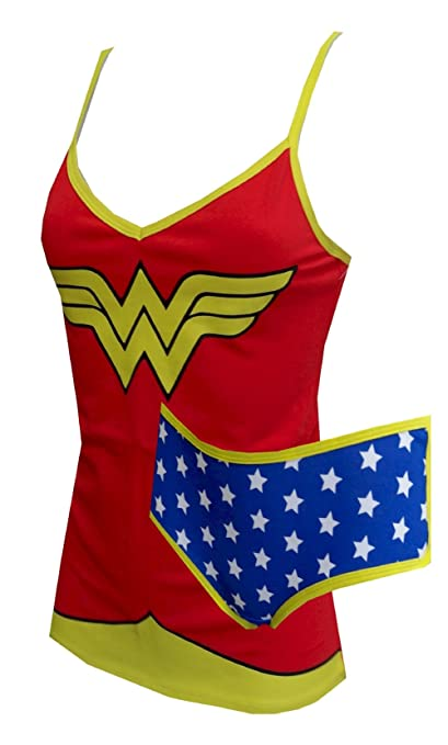 Wonder Woman Cami & Panty
