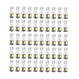 Yolu 50pcs T10 5SMD High Bright LED Light Reading Lights 158 168 192 194 2825 W5W