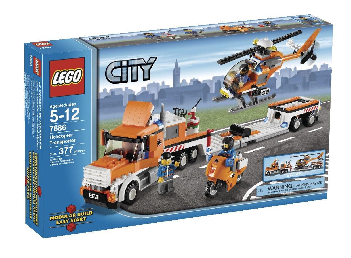 LEGO City Helicopter Transporter (7686) (japan import) als Weihnachtsgeschenk