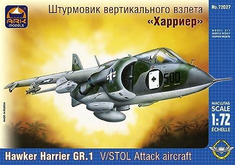 Ark Models 1:72 - Hawker Harrier GR.1 V/STOL Attack aircraft - ARK72027