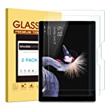 [2 PACK] 2017 NewSurfacePro/Surface Pro 4 Screen Protector, SPARIN Tempered Glass Screen Protector with High Responsive/Bubble Free/Scratch Resistant
