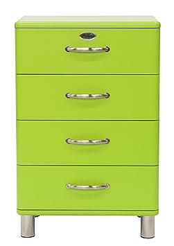 Tenzo 5116-021 Malibu - Designer Kommode 92 x 60 x 41 cm, MDF lackiert, grun