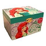 Disney Princess Ariel Little Mermaid Jewelry Music Box (Color: White)