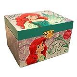 Disney Princess Ariel Little Mermaid Jewelry Music Box (Color: White)