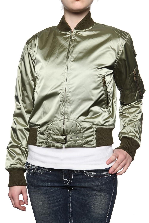 Belstaff Damen Jacke Blouson-Jacke SOLDIER, Farbe: Hellgruen