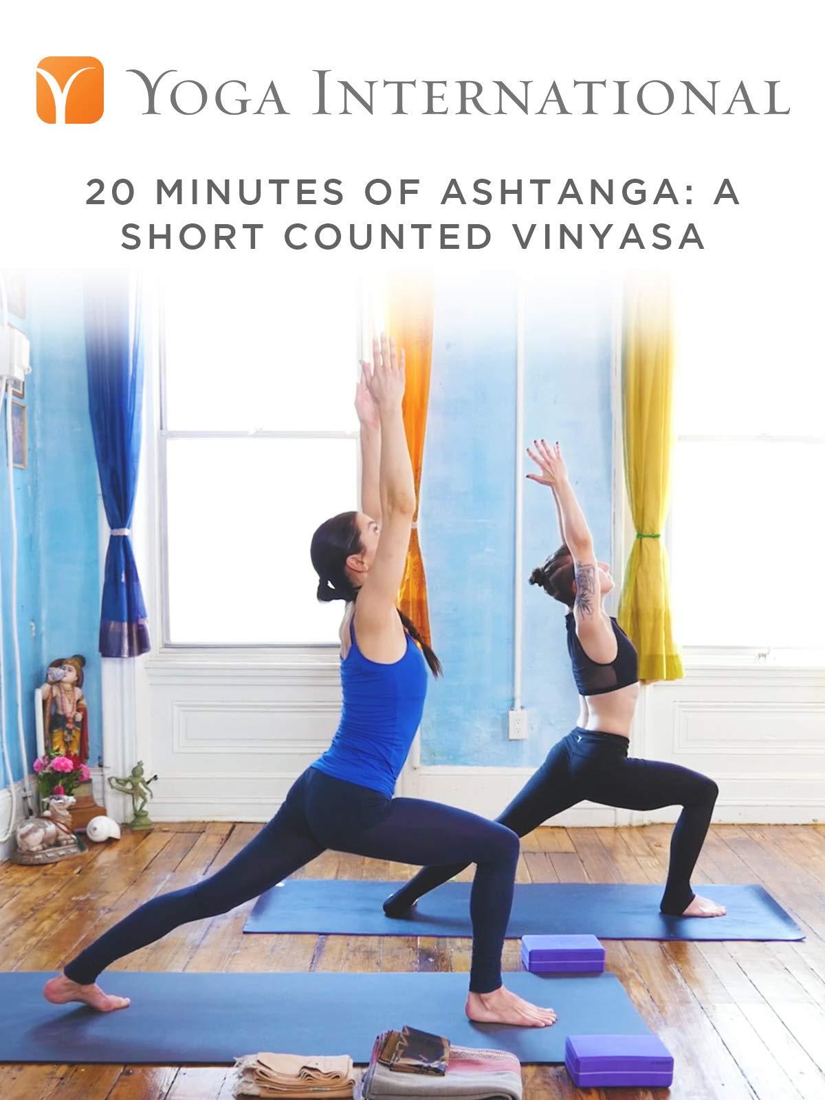 20 Minutes of Ashtanga: A Short Counted Vinyasa
