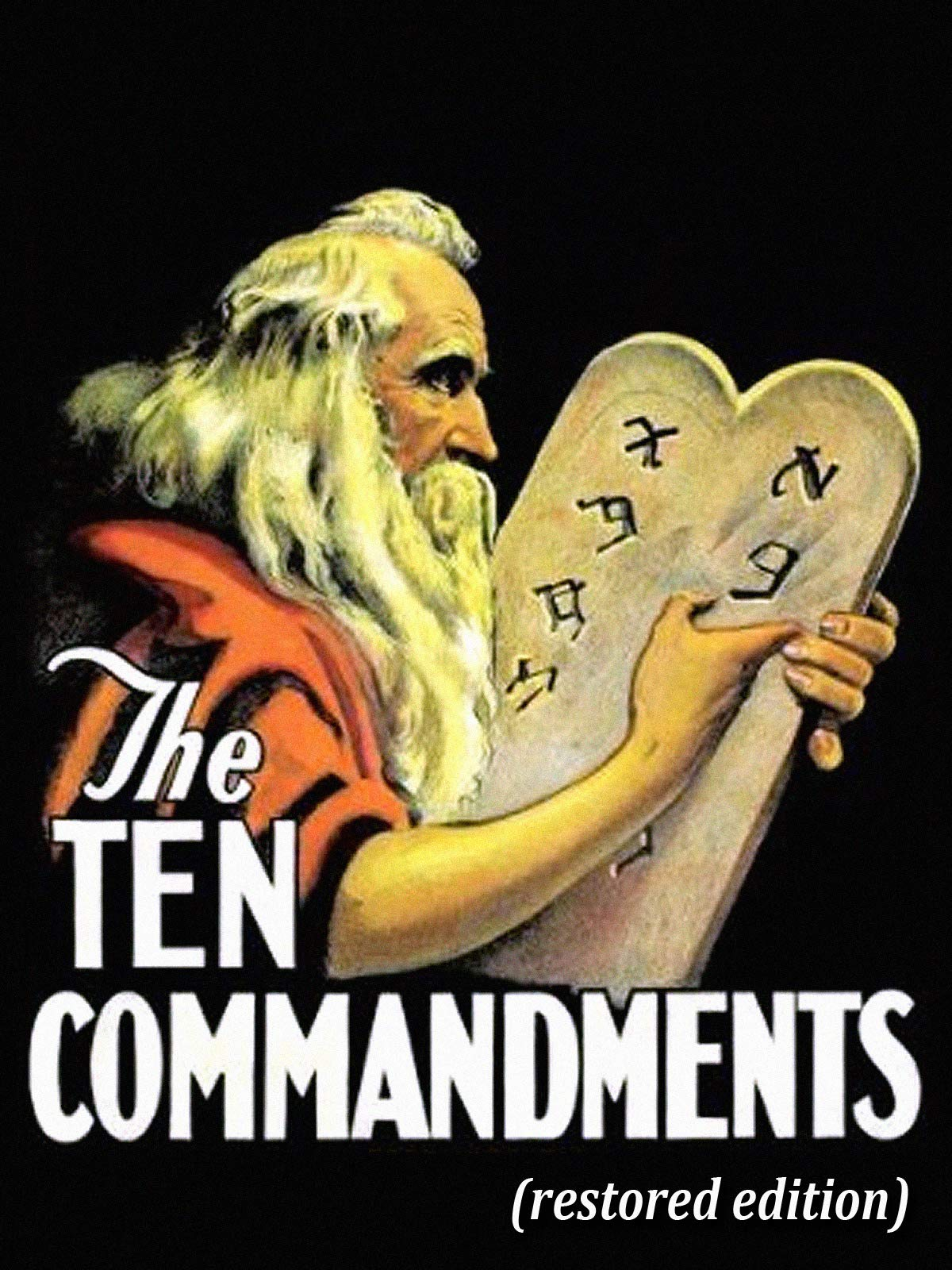The Ten Commandments - Restored Edition